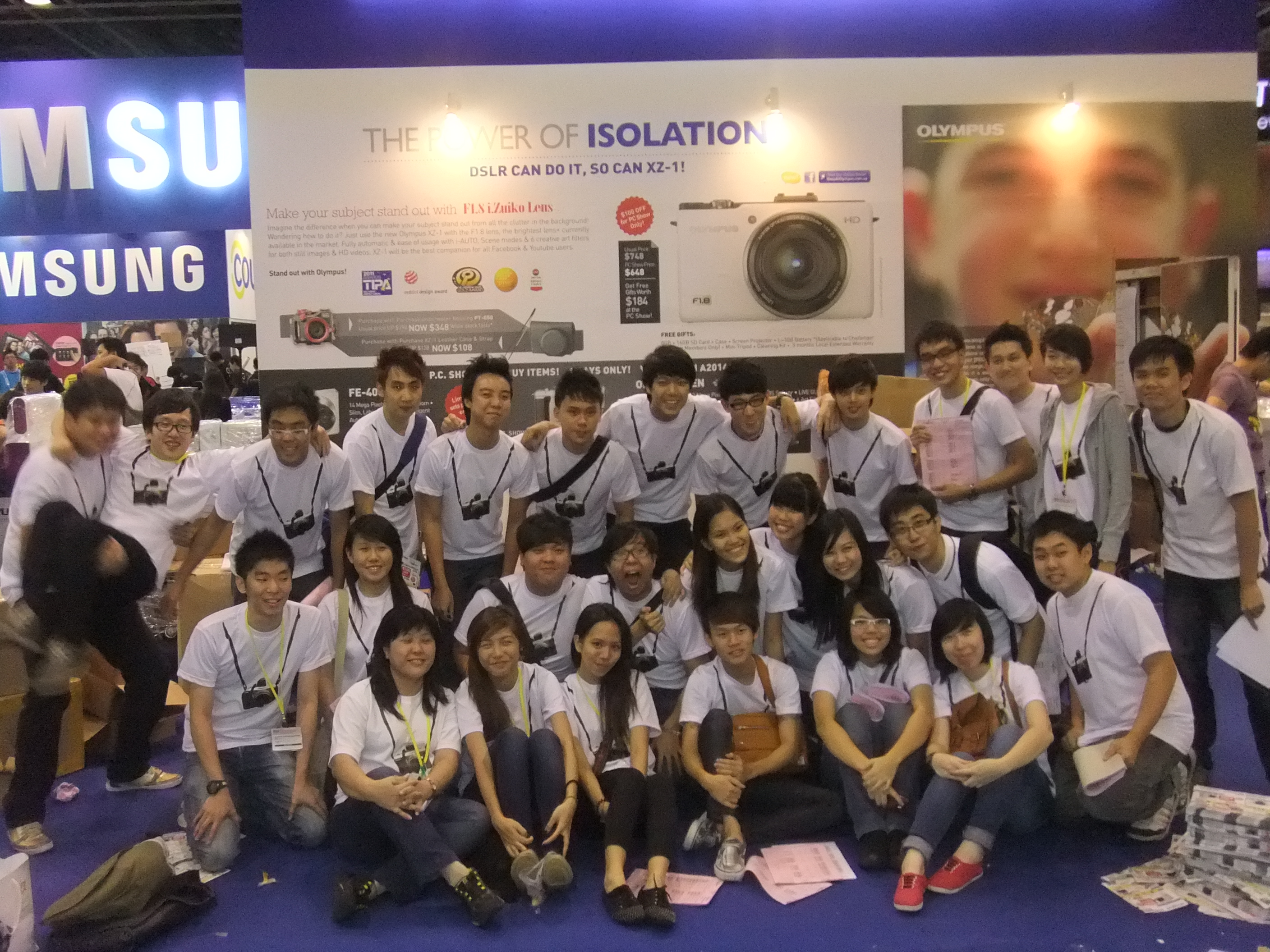 Samsung team it expo